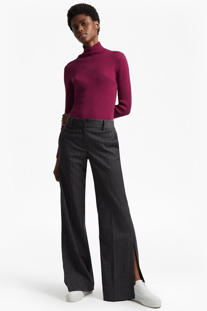 Georgie Suiting Wide Leg Trousers