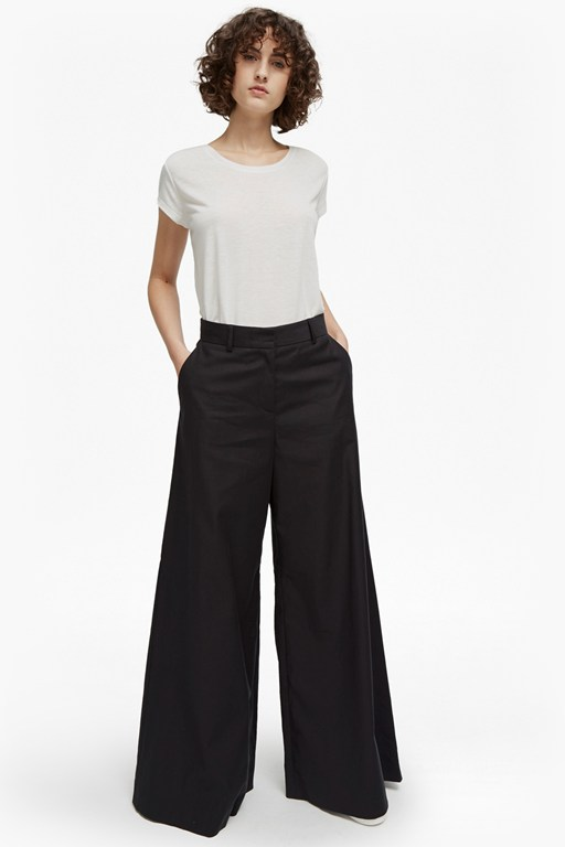 Complete the Look Ria Cotton Flare Trousers