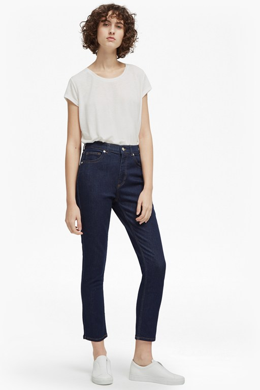 Complete the Look Authentic Modal Denim High Rise Jeans