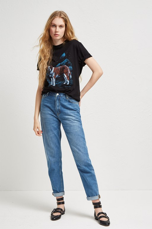 soft authentic 90s gaucho jeans