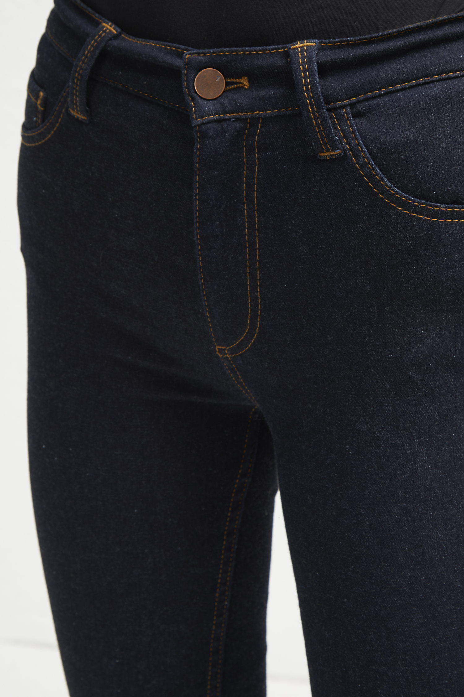 shoes for cheap elegant and sturdy package latest style Thermal Denim High Rise Skinny Jeans