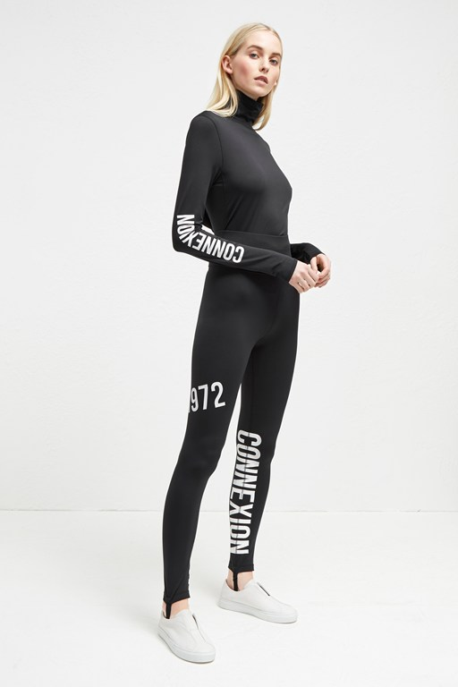 hollis jersey stirrup leggings