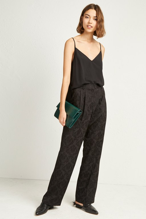 Complete the Look Jane Suiting Relaxed Trousers