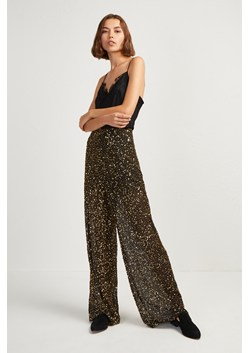 Aida Sequin Wide Leg Trousers