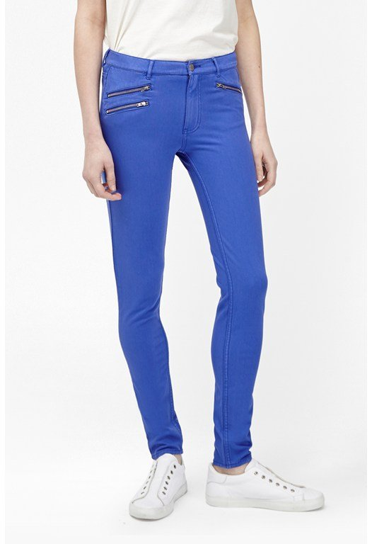 Lilly Denim Zip Skinny Jean