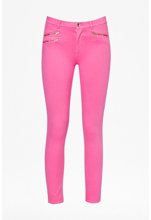 Lilly Zip Skinny Jeans