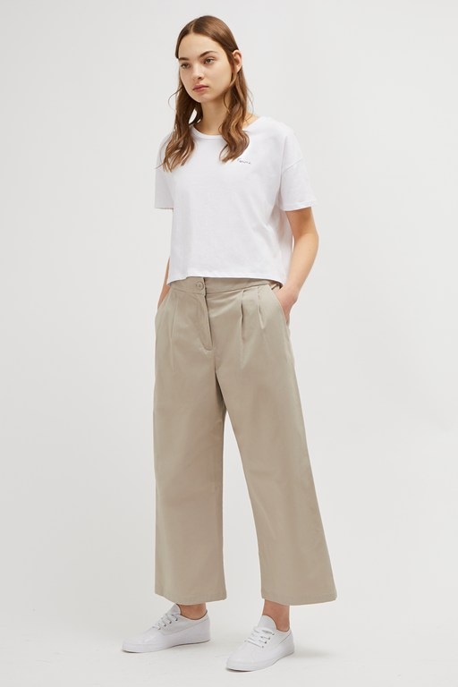 colrane cotton trousers