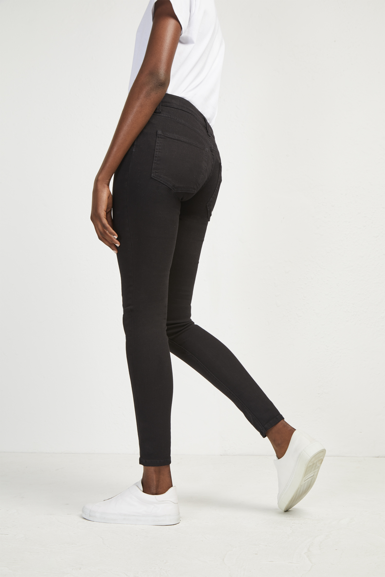 Rebound Skinny Jeans - Pine blue French Connection