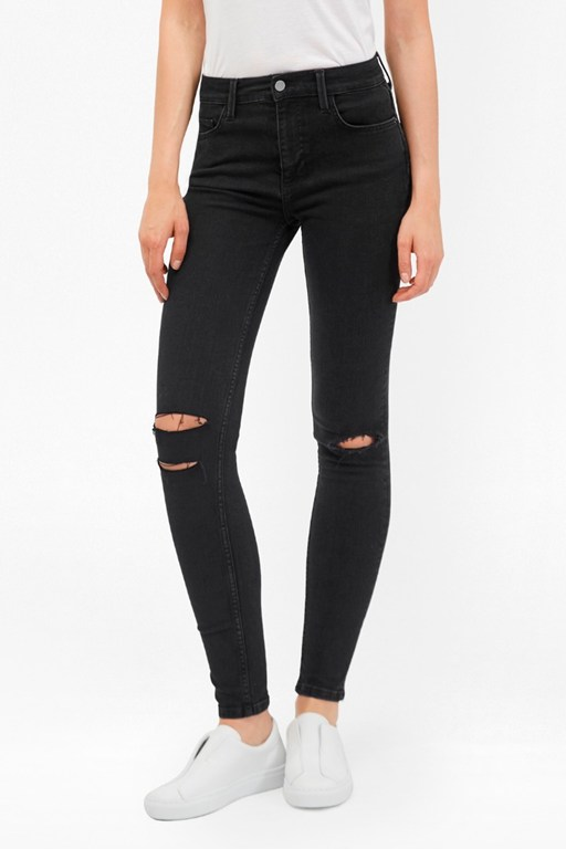Complete the Look Rebound Ripped Knee Skinny