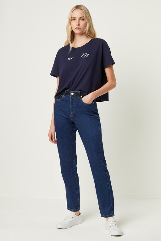 Complete the Look Leona Denim High Waisted Jeans