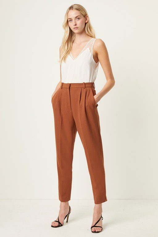 alido sundae suiting pleated trousers