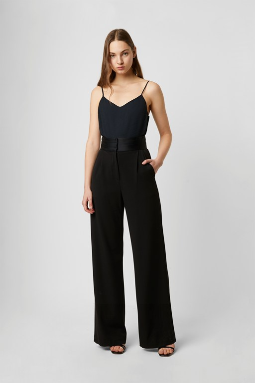 Complete the Look Amato Suiting High Waist Wide Leg Trousers