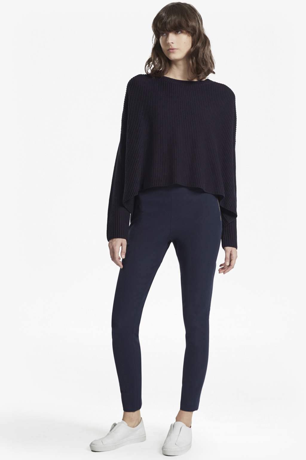 Street Twill Skinny Trousers Wedding Guest Dresses French