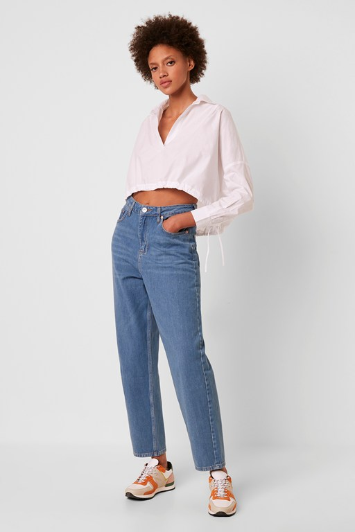 Complete the Look Reem Denim Boyfriend Jeans