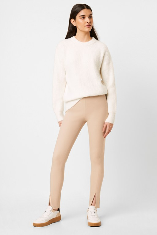 Complete the Look Sonya Street Twill Skinny Front Split Trousers