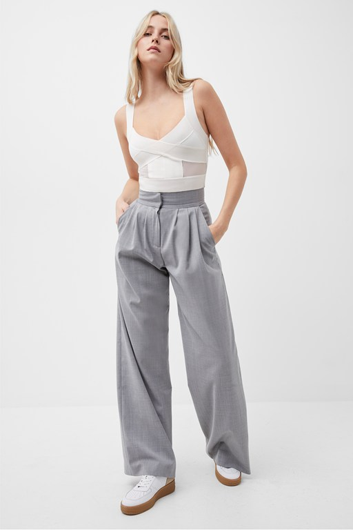 ikari recycled tailored trousers