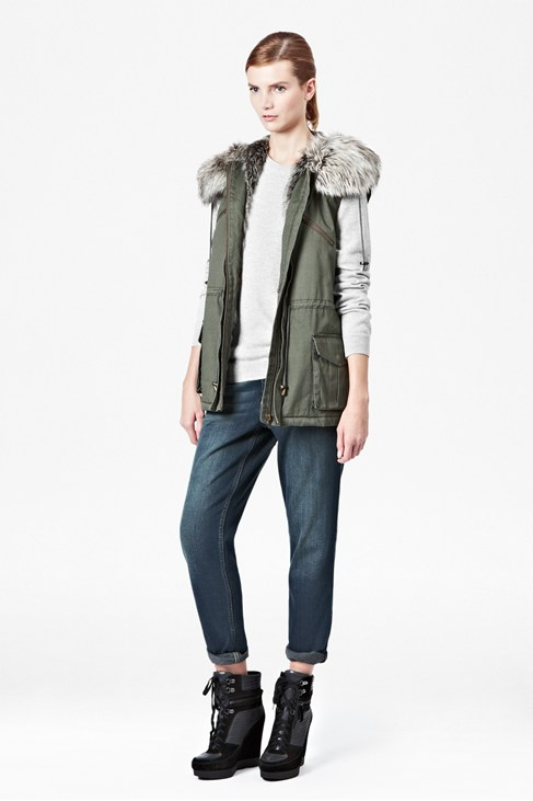 Freda Parka Hooded Gilet