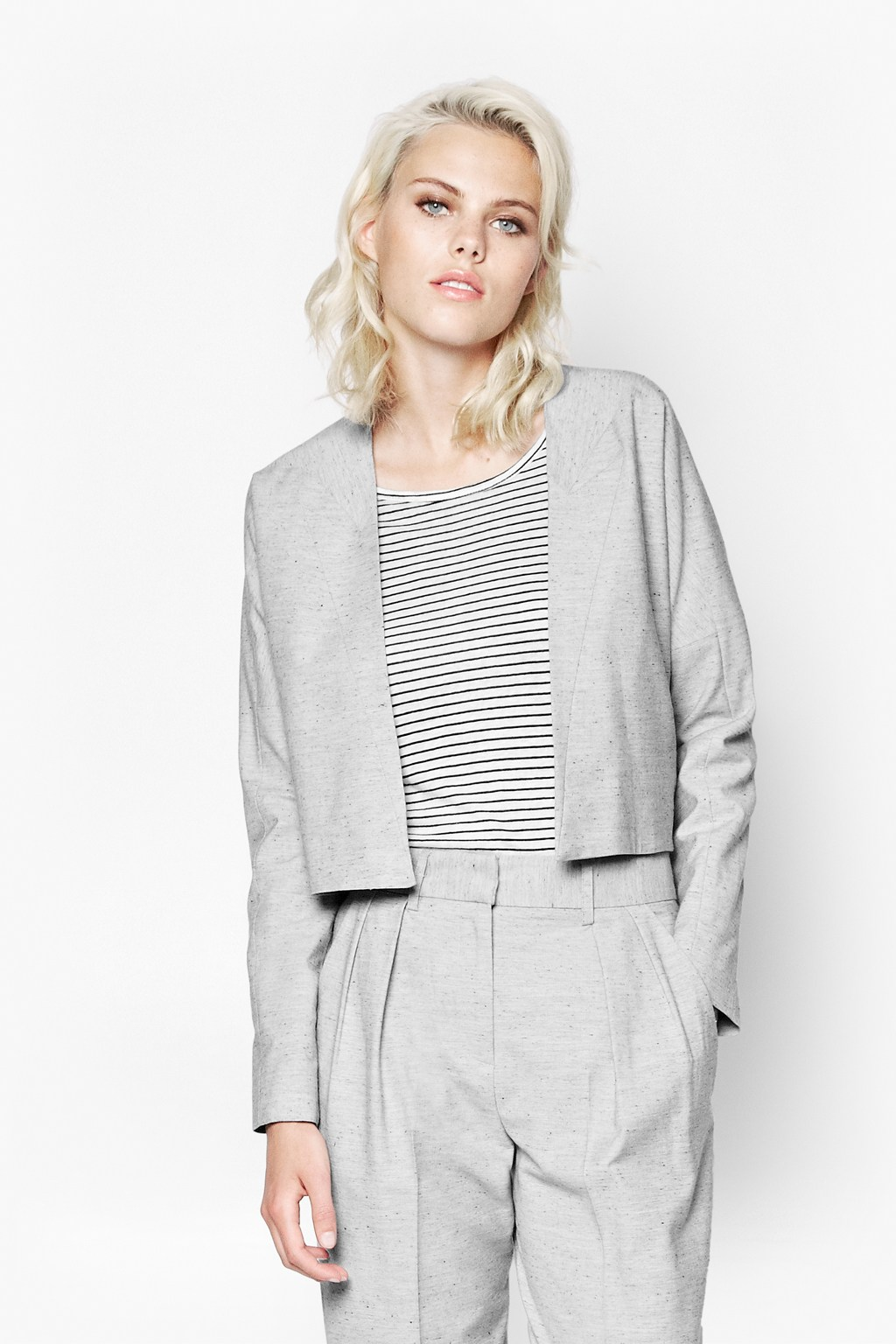 Sonia Suiting Boxy Jacket