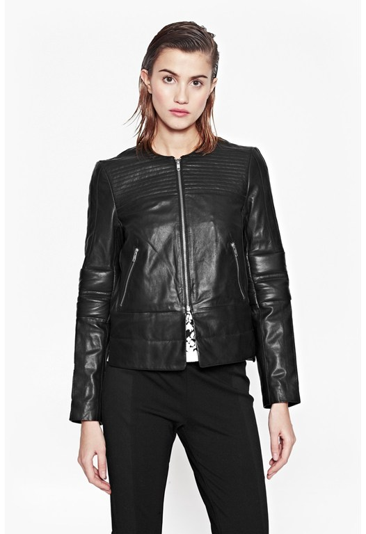 Jetson Leather Biker Jacket