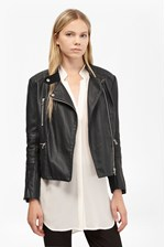 Looks Great With Decade Faux Leather Biker Jacket