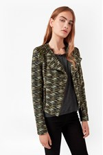 Looks Great With City Camo Biker Jacket
