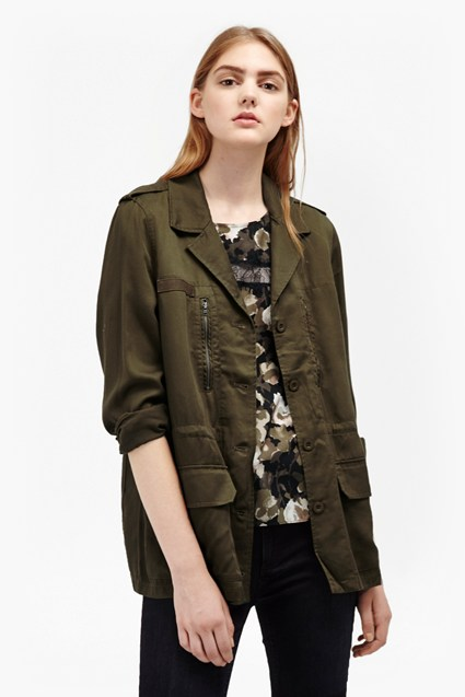 Utility Twill Tencel Jacket