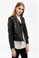 Looks Great With Lydia Leather Jacket