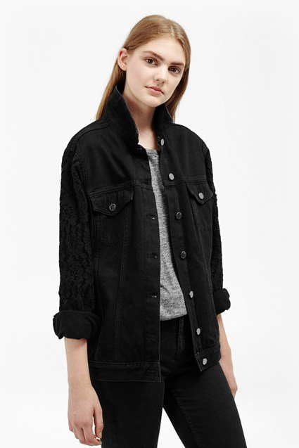 Ft Heron Black Slouchy Western