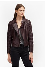 Looks Great With Tobey Leather Biker Jacket
