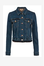 Looks Great With Denim Neat Trucker Jacket