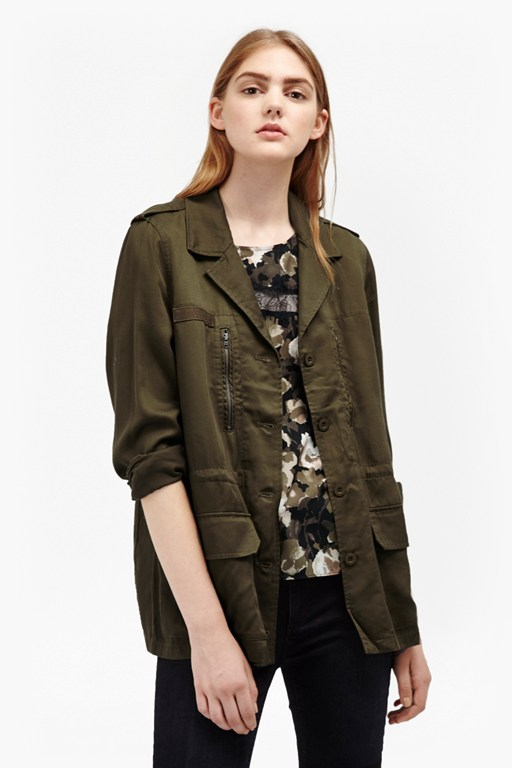 Complete the Look Utility Twill Tencel Jacket