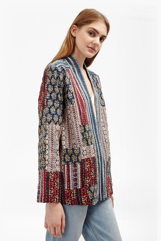 Complete the Look Tilly Quilt Patchwork Jacket