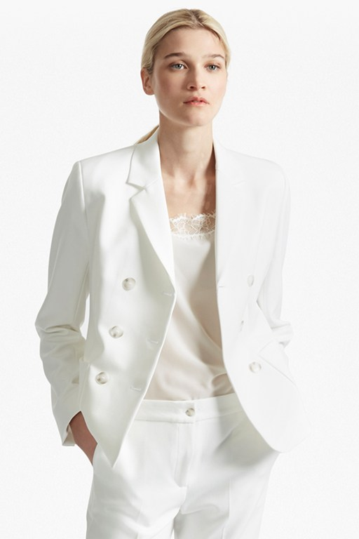 sundae suiting double breast blazer