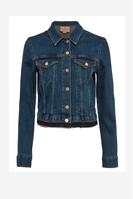 Denim Neat Trucker Jacket