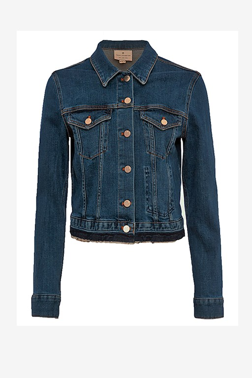 Complete the Look Denim Neat Trucker Jacket