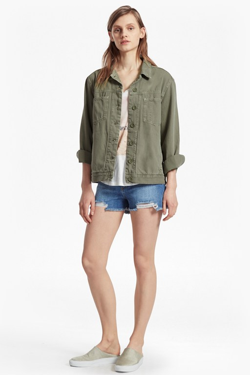 Complete the Look Perret Utility Cotton Jacket