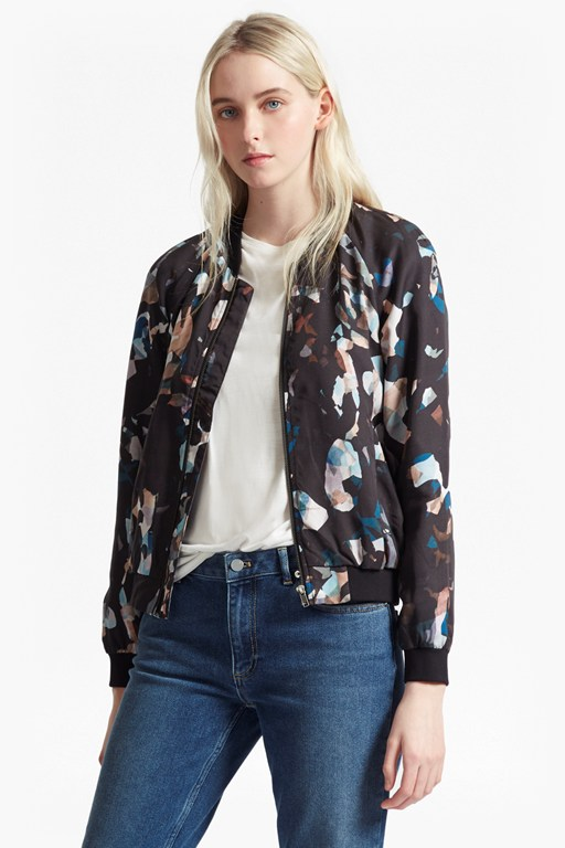 Complete the Look Cornucopia Drape Bomber Jacket