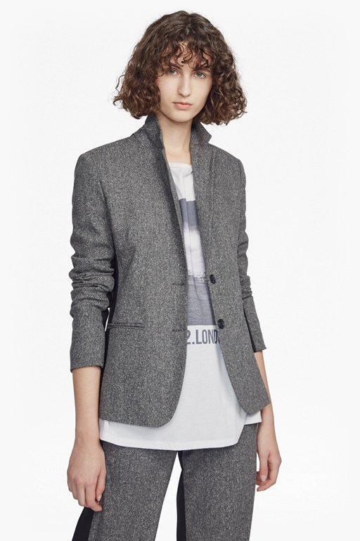 Complete the Look Antonia Tweed Long Sleeved Classic Jacket