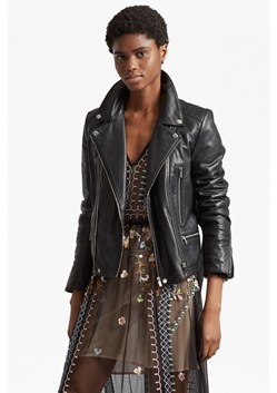 Clare Leather Biker Jacket