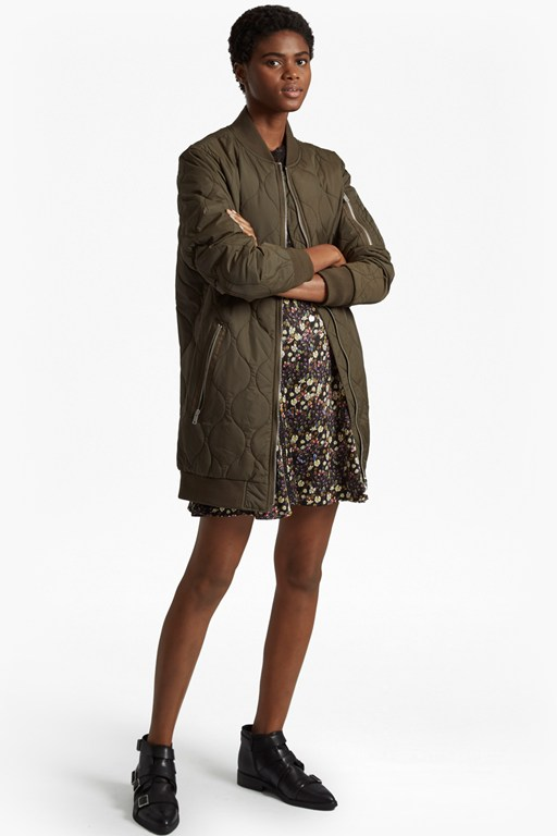 Complete the Look Ardis Quilted Puffer Jacket