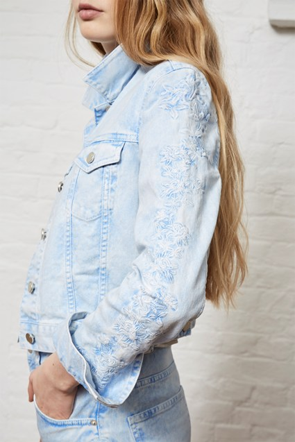 Aida Western Denim Jacket