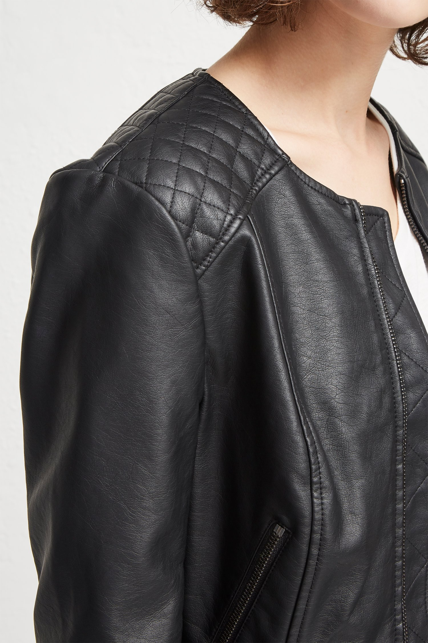missy quilt asl super faux tahari leather view home image jacket larger quilted products zoom