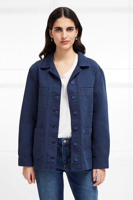 Perret Utility Slouchy Workwear Jacket
