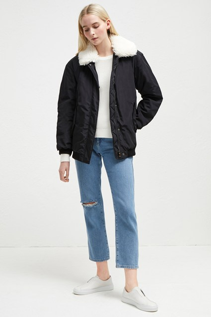 Githa Mix Aviator Jacket