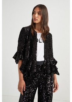 Alodia Sequin Cropped Jacket