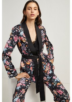 Bridget Satin Belted Jacket