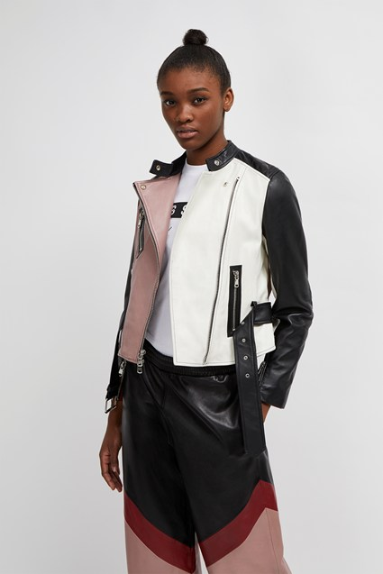 Adela Leather Biker Jacket
