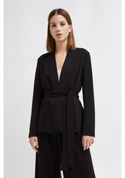 Angeline Drape Belted Jacket