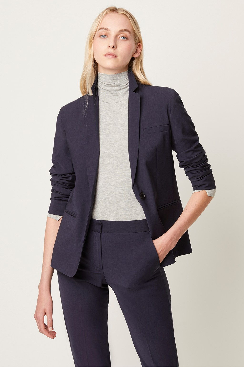 Camanna Suiting Fitted Blazer | Collections | French Connection Usa