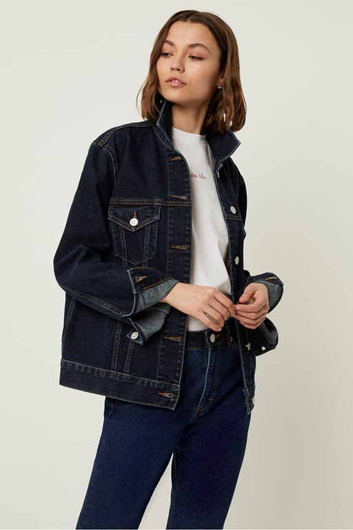 true boyfriend denim jacket